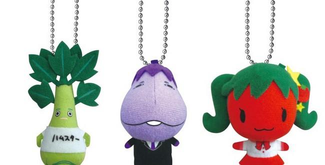 twitter発のキャラクター『BAR 嫌われ野菜』グッズが、早くもクレーンゲームのプライズに登場!