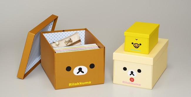 癒し系キャラクター「リラックマ」が折りたためる便利な収納ボックスになって登場! 「リラックマ 折りたたみ収納ボックス」発売