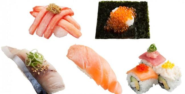 回転寿司のスシロー目玉は「紅ずわい蟹てんこ盛り」と「北海道産こぼれいくら」